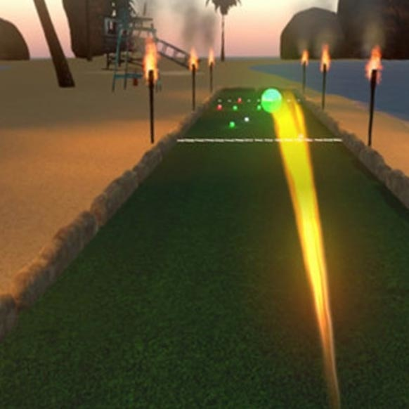 Bocce Beach VR Game Image